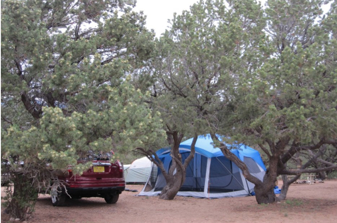 tent camp sites in colorado