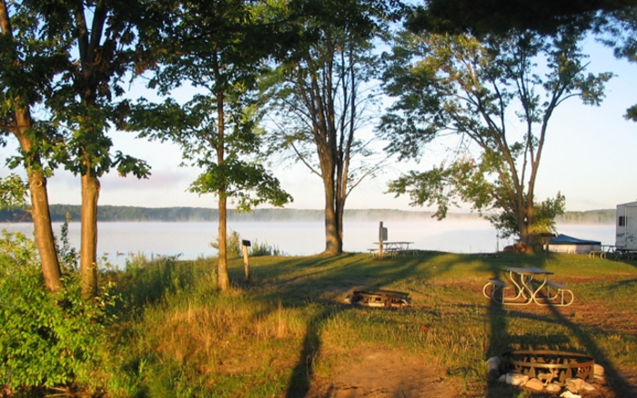tent sites michigan