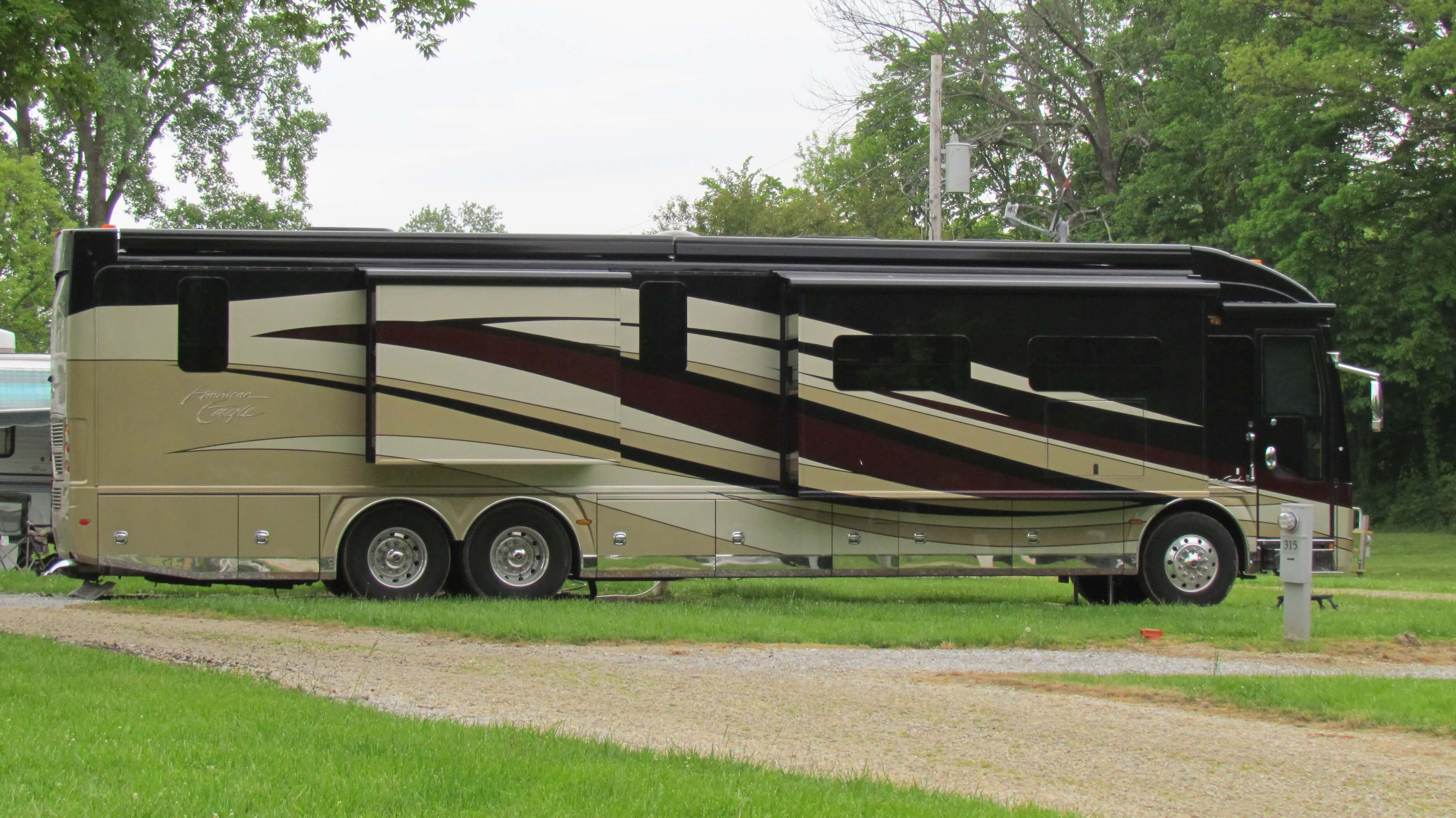 Kamp Modoc Family Campground Availability Bookyoursite 50 Amp Service For Rv Large Pull Thru